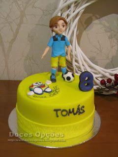 Doces Opções: Bolo para o aniversário do futebolista Tomás