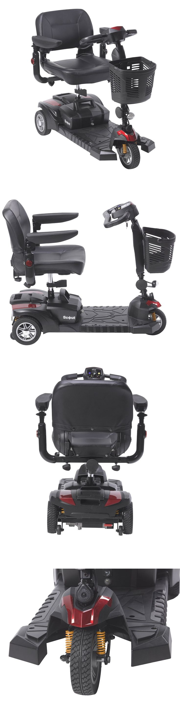 Mobility Scooters: New Design Scout Dst 3 Wheel Scooter Dynamic Suspension Tecnology -> BUY IT NOW ONLY: $975.0 on eBay!