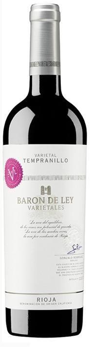 Barón de Ley Varietales Tempranillo 2010 D.O. Rioja - Descuentos por Volumen www.entrecow.com