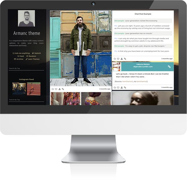 16 best Tumblr Blog Themes images on Pinterest | Website template ...
