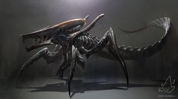 ArtStation - Xenomorph + Starship Troopers Warrior Bug, Kory Hubbell