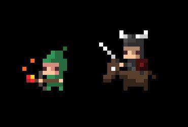 Archer & Horseman