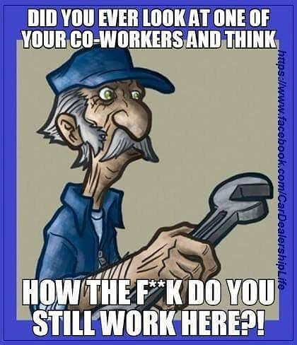 Haha, my husbands says this almost everyday at work!