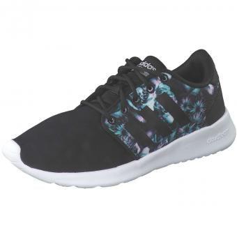#adidas CF QT Racer W Sneaker Damen schwarz, Gr. 42, 04059323313713