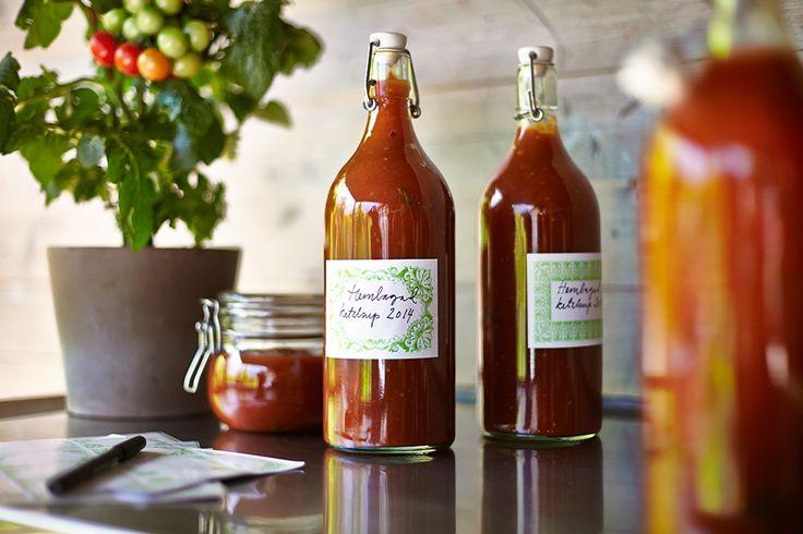 DIY recept ketchup