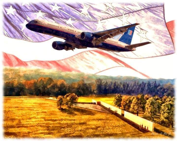 Flight 93 memorial art american heritage pinterest