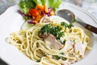 Slimming World Recipes: Slimming World - Spaghetti Carbonara