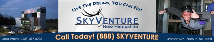SkyVenture New Hampshire : New England's Only Vertical Wind Tunnel