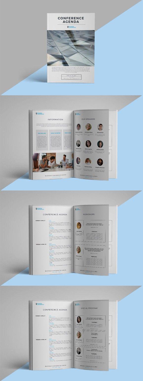 Conference agenda/brochure