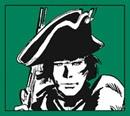 WHEELING. Il racconto parte dalle avventure di Criss Kenton e di Patrick Fitzgerald, due ragazzi, il primo originario della Virginia, il secondo inglese, sullo sfondo della guerra d'indipendenza americana. Inizialmente amici e compagni nelle lotte contro gli indiani, si separano quando Criss decide di continuare a combattere per le colonie americane, mentre Patrick segue le orme dello zio, schierandosi dalla parte dell'Inghilterra.