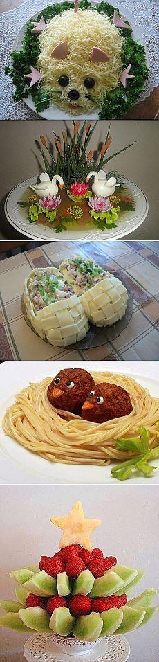 Плейкаст ««Как Украсить Стол К Празднику Украшение Блюд.»»