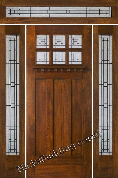 9 Best Craftsman Style Doors Images On Pinterest