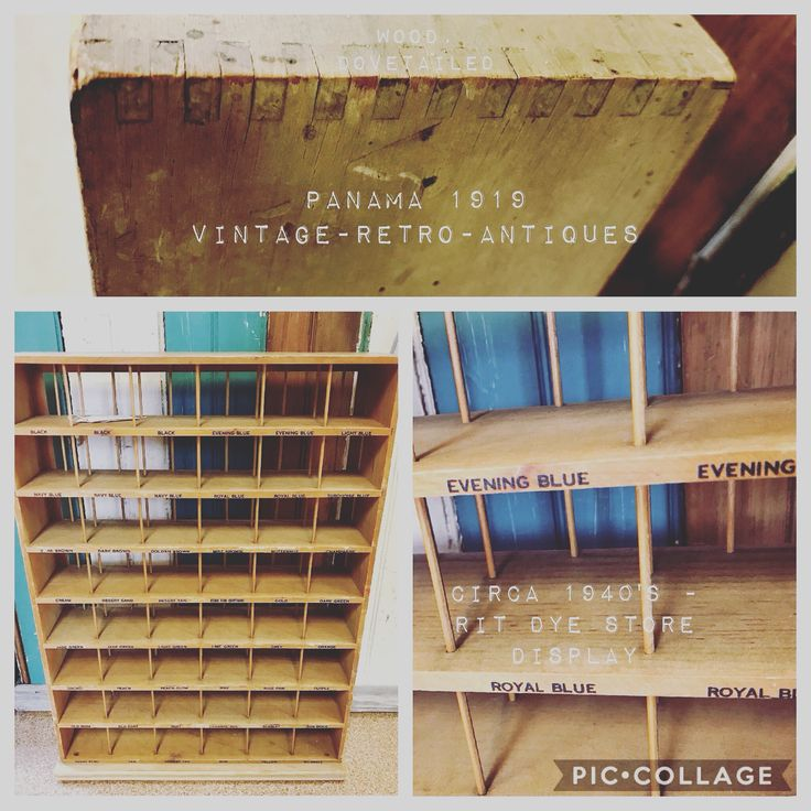 #Vintage #circa1940s #RITdye #wooden #storedisplay #dovetail. Would make a great #display piece as is or display your #vintagesmalls on there. #vintagemarket #vintageshop #Batavia #Illinois #Chicago suburbs @715_vintage #retro #antique #giftideas #holiday #weekend #holidayshopping #history #recycle #reuse #reduce #repurpose #collectible #hello