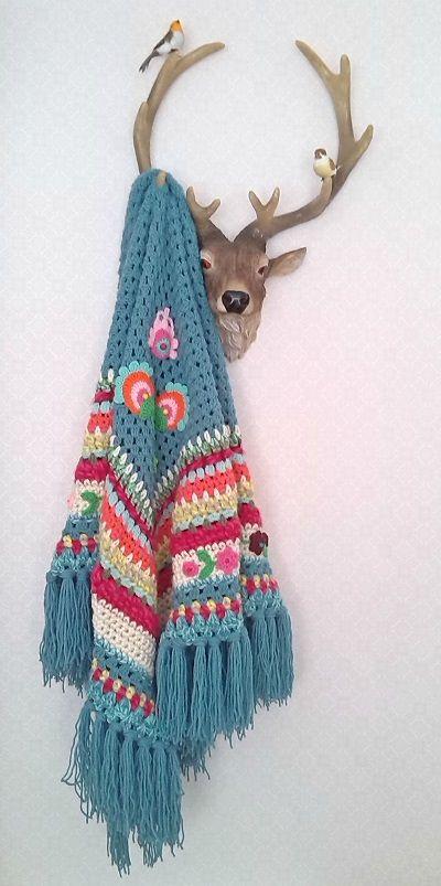 Crochet Shawl ❥ 4U hilariafina http://www.pinterest.com/hilariafina/
