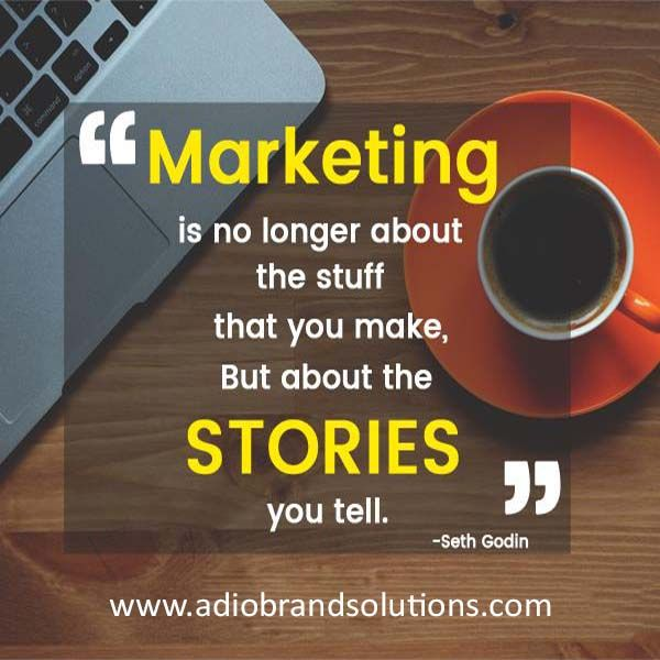 Marketing is all about the story you tell..http://bit.ly/2nQXPjn #development #digital #socialmedia #socialmediamarketing #business #internet #internetmarketing #creativeagency #onlinemarketing #marketing #branding #marketingdigital #ads #advertising #design #google