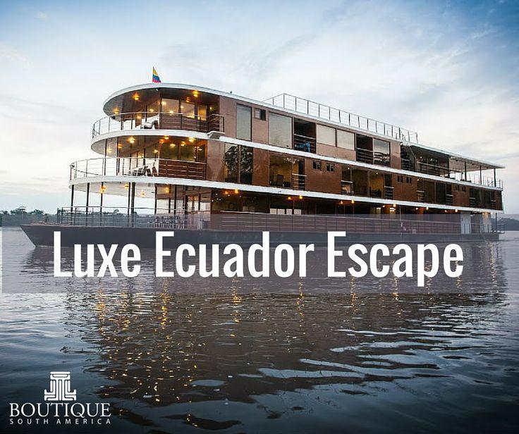 Luxe Ecuador Escape Tour- Travel with Boutique SA