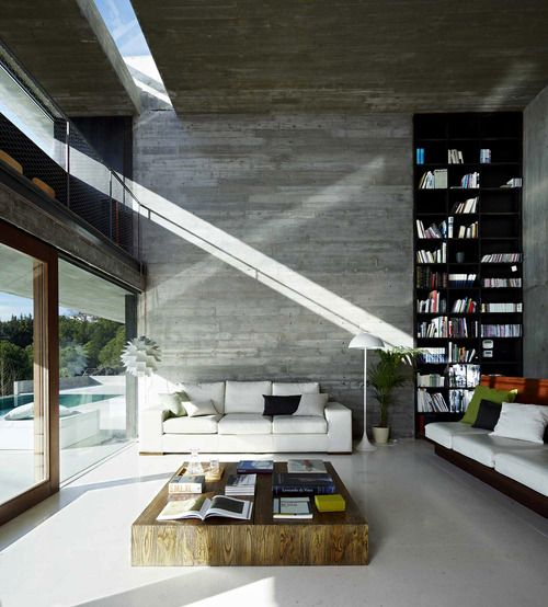 #beautiful #interior living room with double height ceilings - 26 Best Images About Double High Space On Pinterest Modern