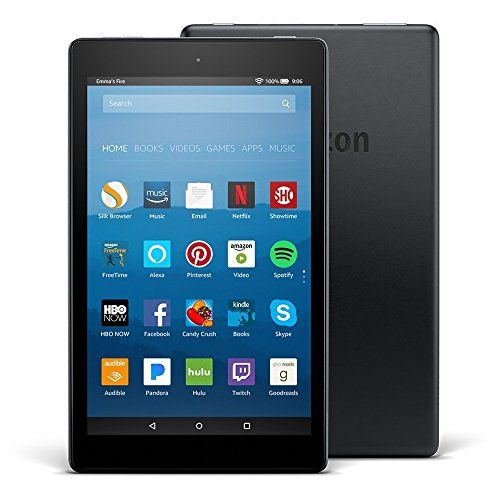 Fire HD 8 Tablet with Alexa, 8″ HD Display, 32 GB, Black – with Special Offers
