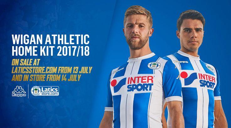 Camisas do Wigan Athletic 2017-2018 Kappa