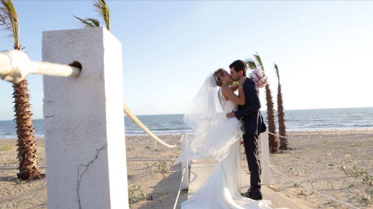 Matrimonio sulla spiaggia romantico