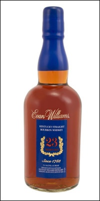 Most Expensive Bourbon Evan Williams 23 Year Old Bourbon Price: $350 Like many very old Bourbons, this beauty is packed with the flavors of dark chocolate, rum, raisins, caramel, vanilla and a long, syrupy finish tinged with woody spices. It is only available at the Kentucky distillery. I guess there's finally a reason to go back to KY now @Maggie Price Thurman.