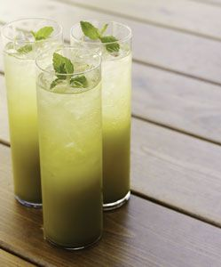 Matcha Green Tea Mojitos