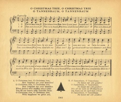 o tannenbaum piano sheet music pdf