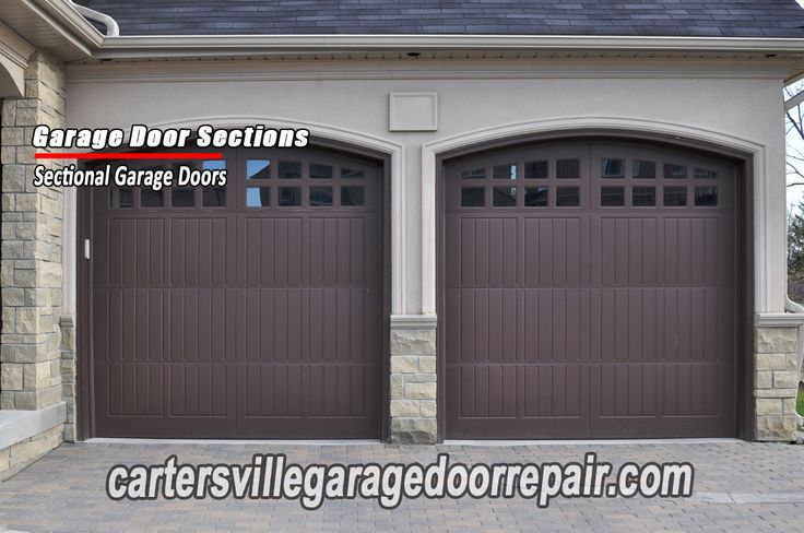 Cartersville-garage-door-garage-door-sections