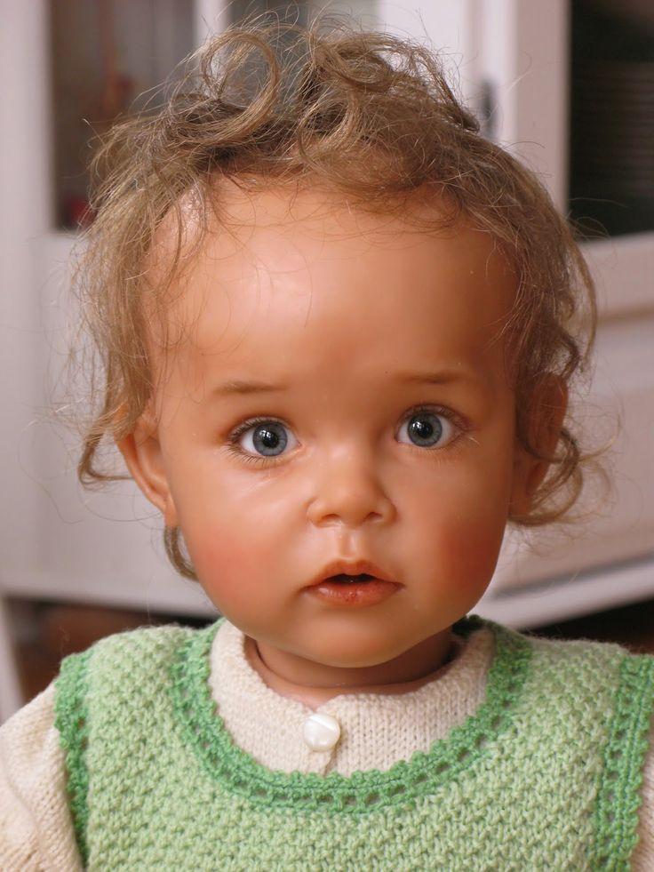 Sissel Skille ooak polymer doll