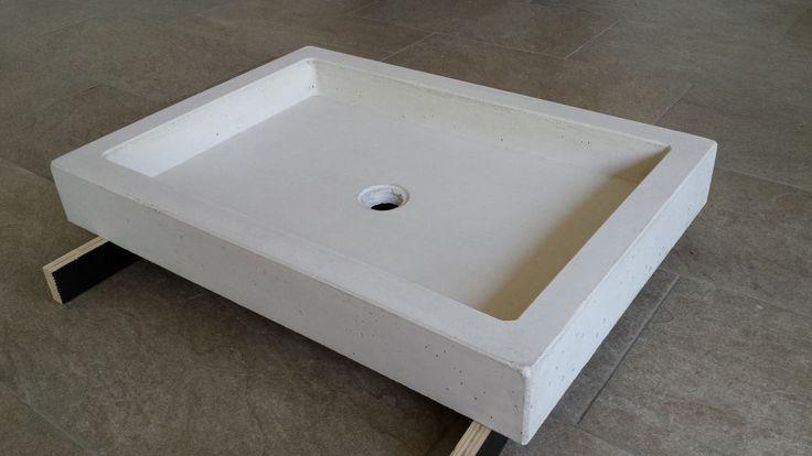 Betonwaschbecken, Waschbecken aus Beton, Betonwaschtisch