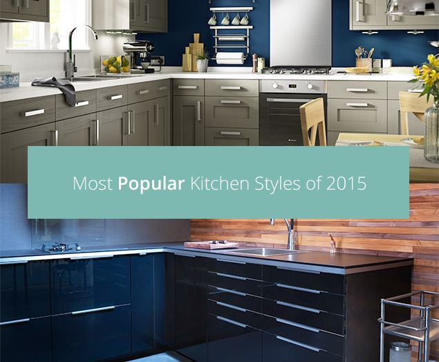 Check out the most popular kitchens of 2015!