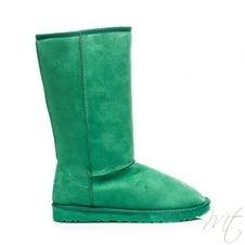 Dámske zelené snehule 109GR