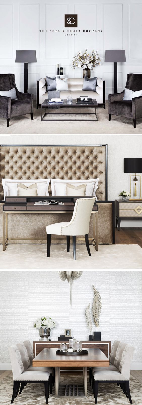 London's largest luxury showroom | A one-stop destination for Interiors | The Sofa & Chair Company