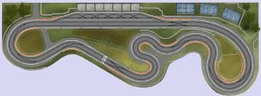Image result for wood routed slot car track