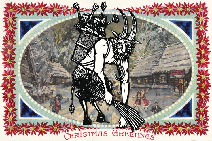 "Meet Krampus, the Seriously Bad Santa, ""The demonic 'anti-Santa' enjoys an unlikely renaissance as we learn to embrace our inner pagan...."" Full article at the link, very interesting revelation of our collective Shadow."
