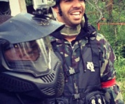 Drake, Kevin Hart, & OVO Crew Have Paintball fight