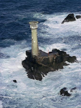 Longships Lighthouse, Land's End, Cornwall