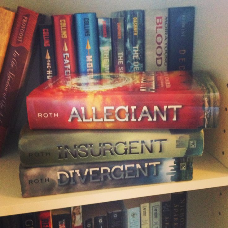 Not only does this person own Allegiant, they also have The Hunger Games and The Maze Runner in the background. You, whoever you are, are awesome :)