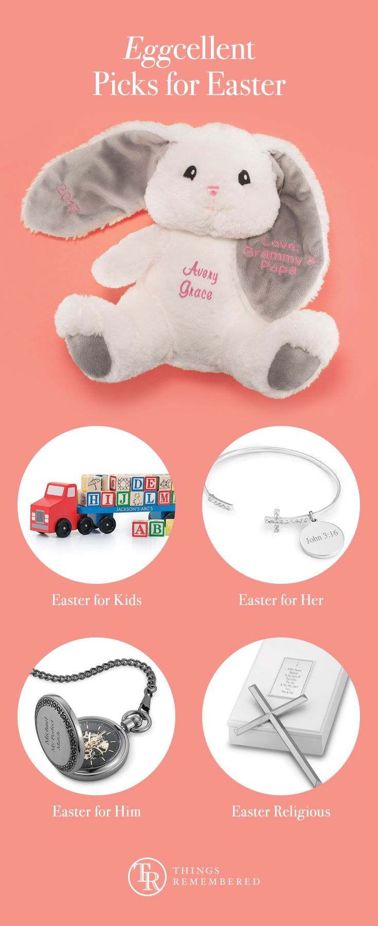 16 best kids gifts images on pinterest kids gifts childrens gifts create easter memories with personalized gifts for men women and kids from personalized easter baskets and stuffed bunnies to religious jewelry more negle Image collections
