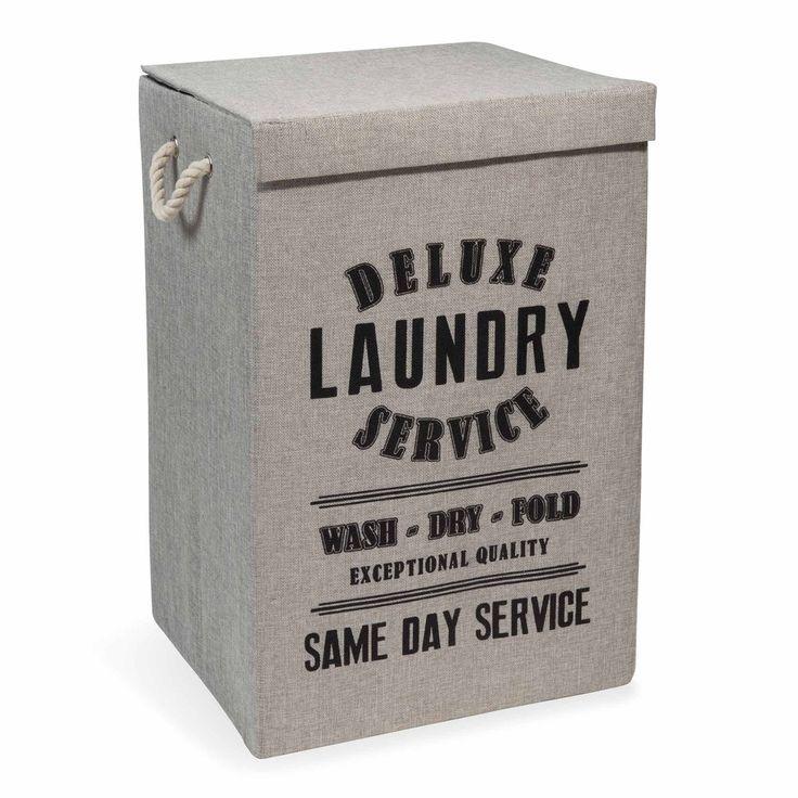 Wäschekorb LAUNDRY DELUXE aus Stoff