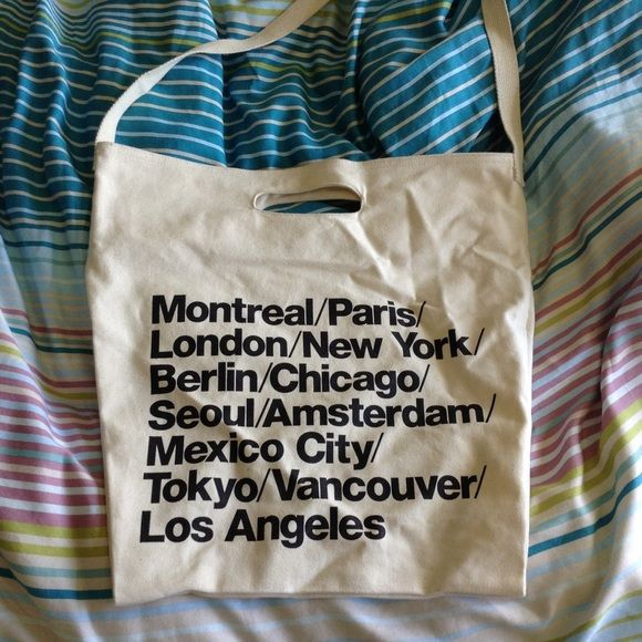 American Apparel tote bag American Apparel tote bag. Black mark under Baltimore. See photo 3 American Apparel Bags