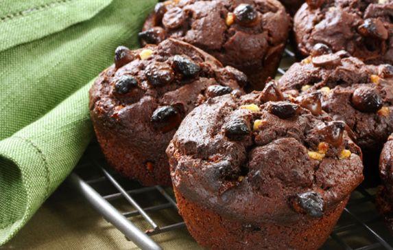I muffins al cioccolato sono perfetti come colazione o all'ora del the.  http://www.stilefemminile.it/muffin-al-cioccolato-tutto-vegetale/
