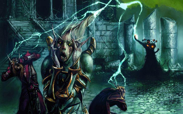World of warcraft, чернокнижник, trading card game, blizzard, помешательство