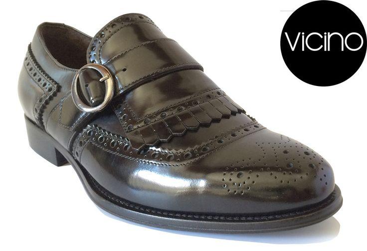 Classic Monk (Black) | Vicino Italian Men Shoes – Vicino Italian Handmade Shoes for Men
