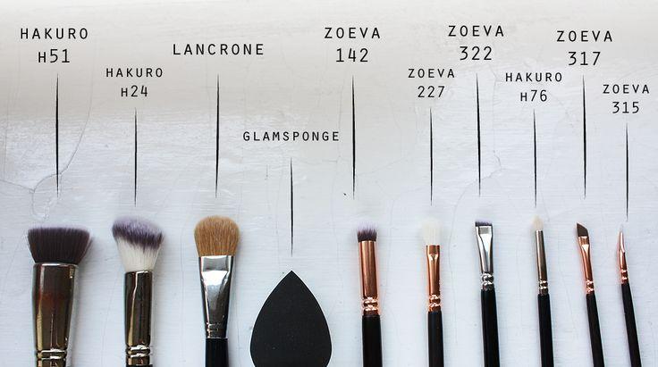 The Beauty Daybook: Ulubione pędzle do makijażu Zoeva