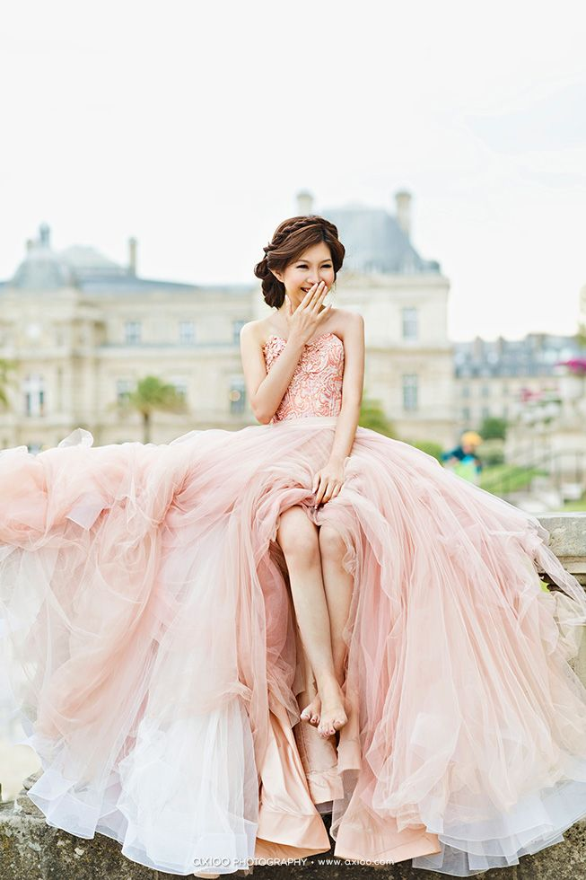 Who wants this pink dress?