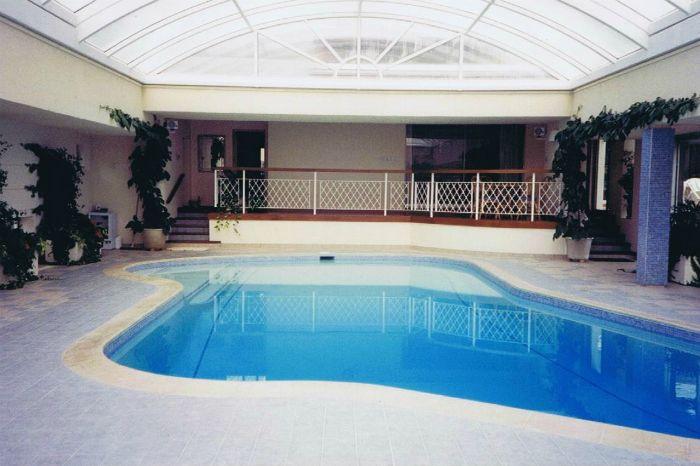 Evolving Spaces Landscape Designs LTD - Indoor swimming pool.