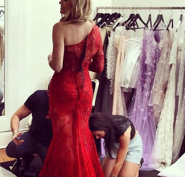 THE MAKING OF SONIA KRUGER'S 2014 TV WEEK LOGIES GOWN