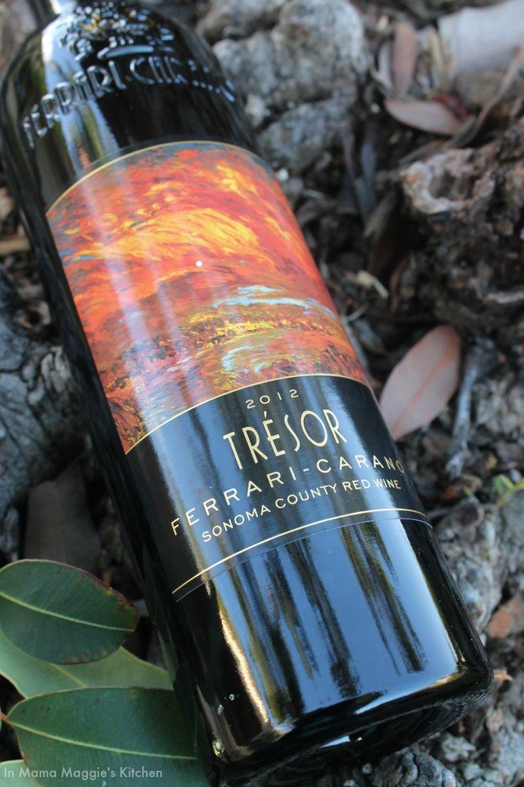 A delicious wine blend - Tresor Ferrari-Carano 2012 | In Mama Maggie's Kitchen