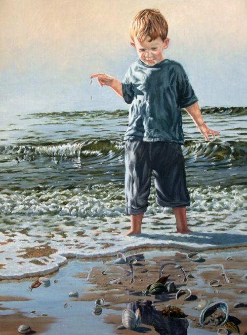 joel - oil on canvas - www.paulconey.co.nz